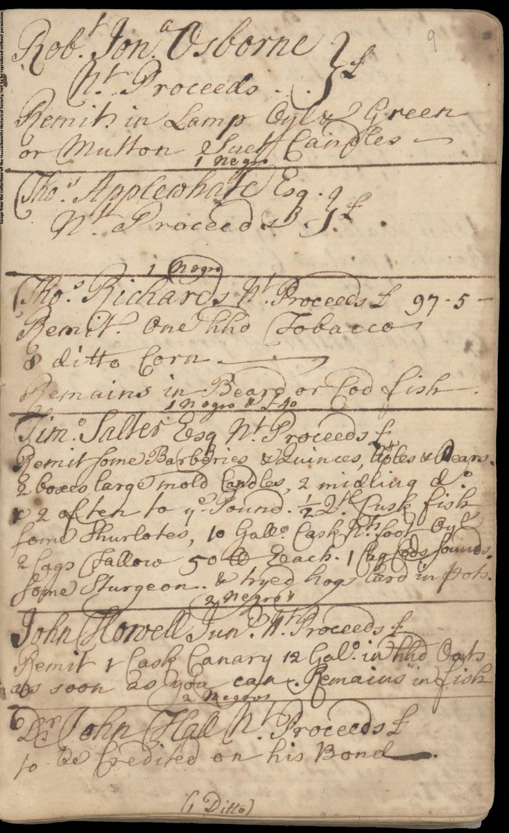 In 1638, Masschusetts Governor John Winthrop made a journal entry about the slave trade in Massachusetts.
