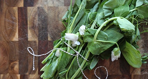 greens in a bundle