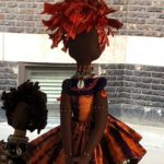 hand made African Dolls