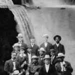 The Niagara movement meeting photo from Fort Erie Canada in 1905.