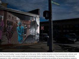 Roxbury mural paintings