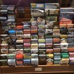 Tourist brochure rack