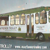 Trolley model in Provincetown