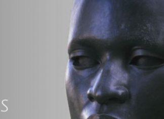 BIG HEAD statue NCAAA