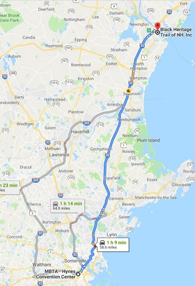 Boston to Black New Hampshire Travel Packages assume 2.20 hours total travel and up to four hours of activity location.