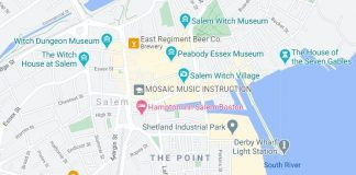 Salem Ma Map