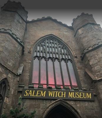 Salem Massachusetts Halloween time for tourists