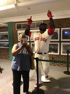 A most famous Red Sox player
