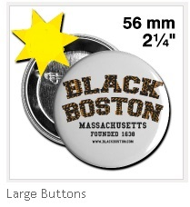 Black Boston Button