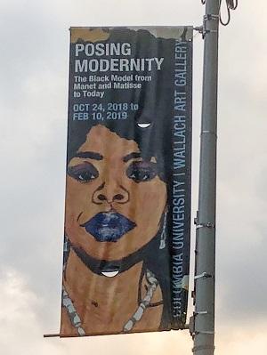 Posing modernity street signs