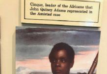 Cinque leader of Armistad